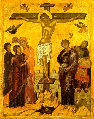 Icon of the Crucifixion of Christt